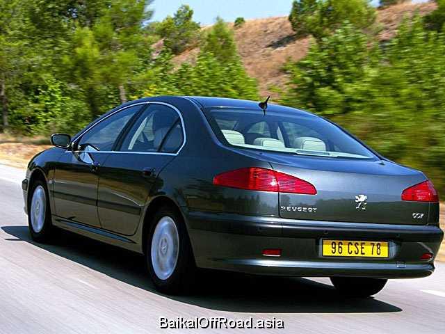 Peugeot 607 2.2 16V (158Hp) (Автомат)