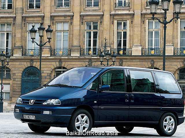 Peugeot 806 2.0 16V (136Hp) (Механика)