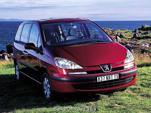 Peugeot 807 2.9 V6 24V (204Hp) (Автомат)