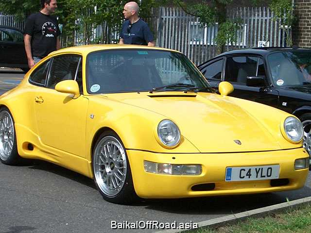 Porsche 911 3.6 Turbo (360Hp) (Механика)