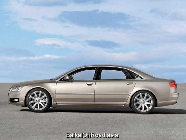 Audi A8 L (facelift) L 3.2 FSI (260Hp) (Вариатор)