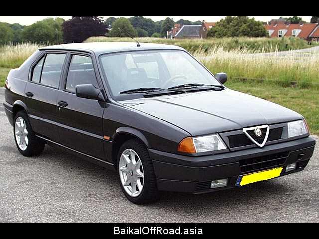 Alfa Romeo 33 (facelift) 1.7 i.e. 4x4 (107Hp) (Механика)