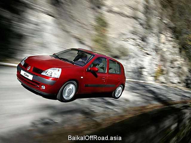 Renault Clio 1.4 (75Hp) (Автомат)