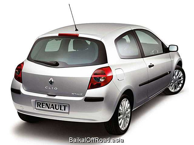 Renault Clio 1.6 i 16V (88Hp) (Механика)