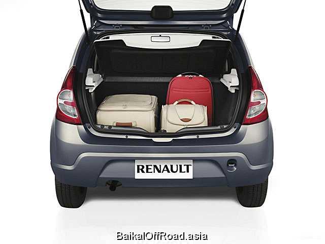 Renault Sandero 1.6 16V MT (107Hp) (Механика)