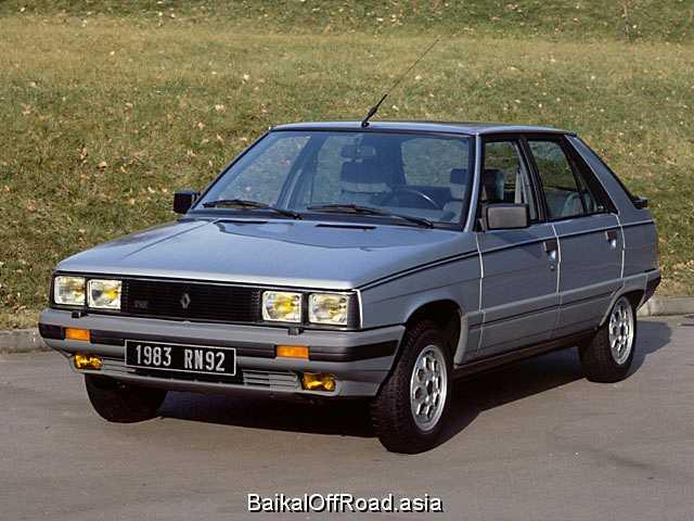 Renault 11 1.7 (80Hp) (Механика)