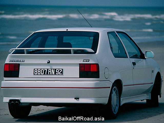 Renault 19 Cabriolet 1.7 (90Hp) (Механика)