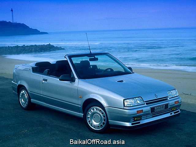 Renault 19 Cabriolet 1.8 16V (135Hp) (Механика)