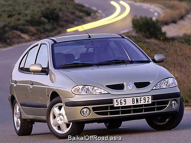 Renault Megane 1.6 i 16V (107Hp) (Автомат)