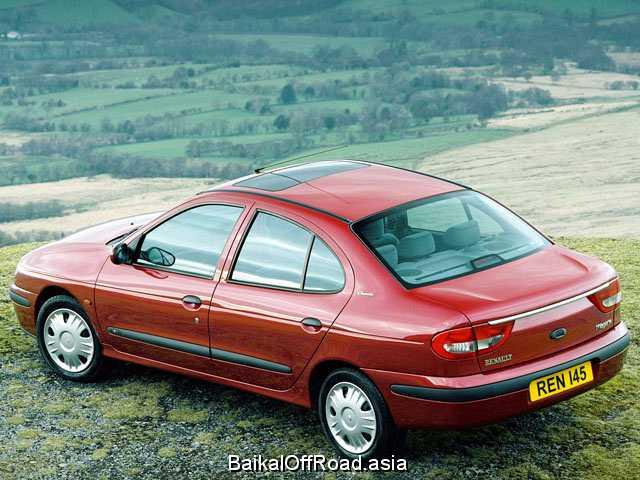 Renault Megane Classic 1.6 i 16V (107Hp) (Автомат)