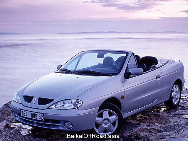 Renault Megane Cabriolet 1.6 i 16V (140Hp) (Механика)