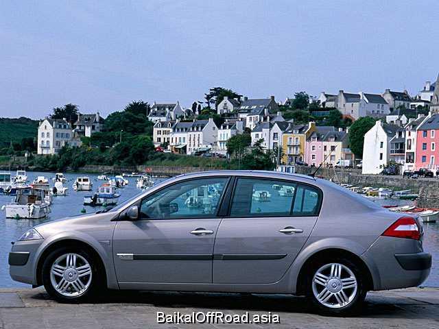 Renault Megane Classic 2.0 i 16V (136Hp) (Механика)