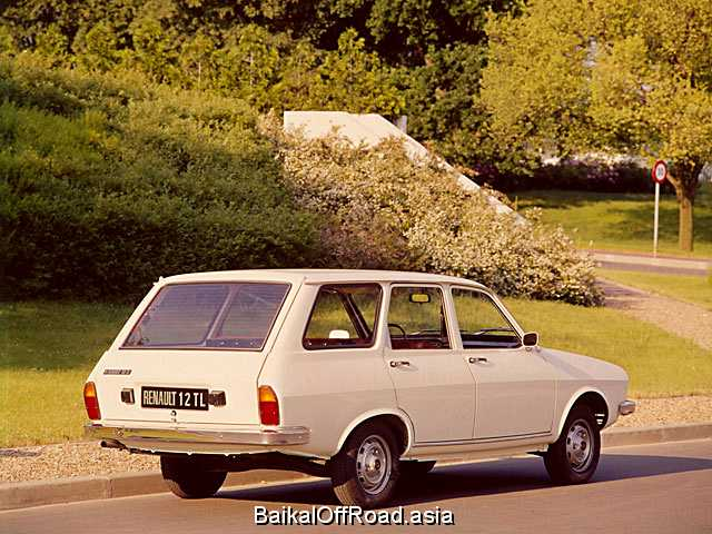 Renault 12 Variable 1.3 (60Hp) (Механика)
