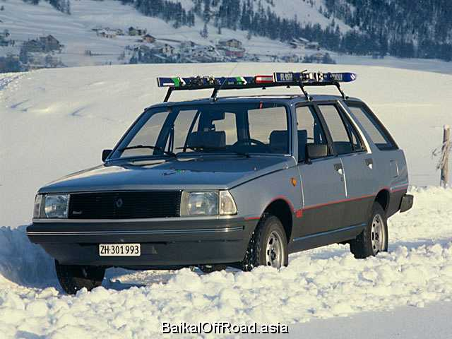 Renault 18 Variable 1.6 (73Hp) (Механика)