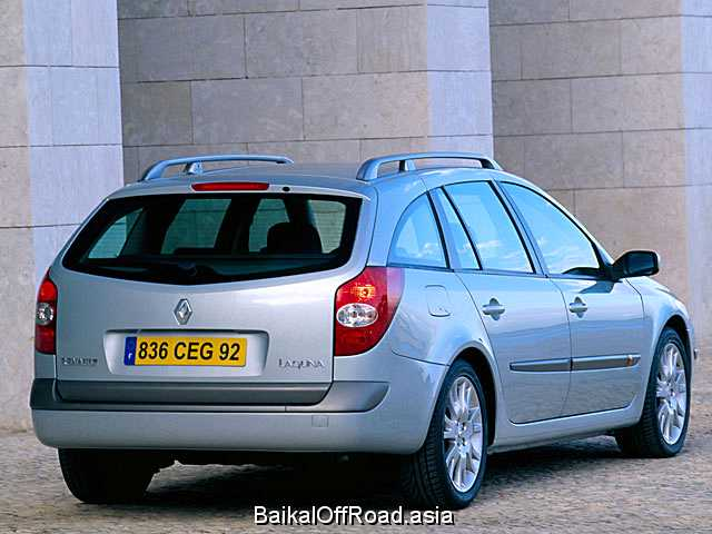 Renault Laguna Grandtour 2.0 i 16V Turbo (170Hp) (Автомат)