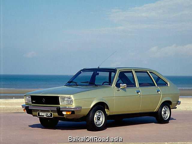 Renault 20 2.2 (116Hp) (Автомат)