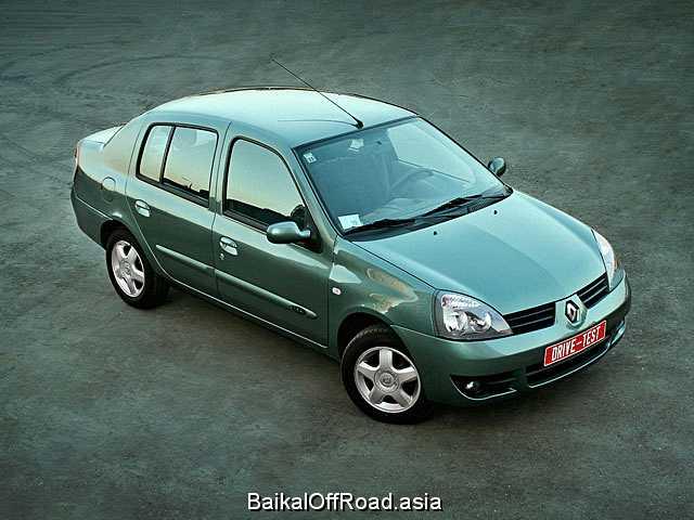 Renault Symbol 1.6 i 16V (107Hp) (Механика)