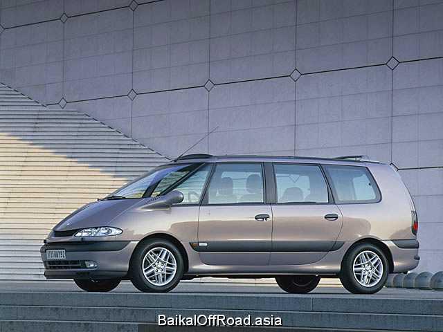 Renault Espace 2.0 i 16V (140Hp) (Механика)