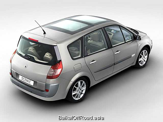 Renault Grand Scenic 2.0 i 16V (165Hp) (Механика)
