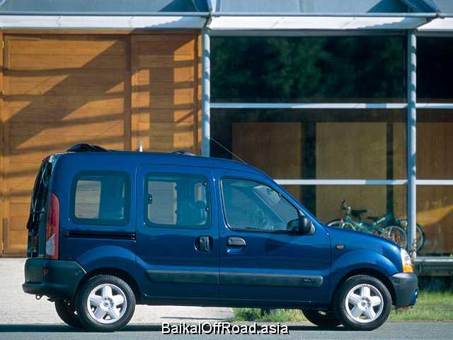 Renault Kangoo 1.6 i 16V (95Hp) (Автомат)