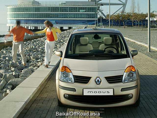 Renault Modus 1.5 dCi (68Hp) (Механика)