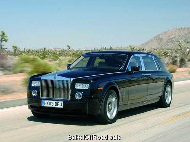 Rolls-Royce Phantom Drophead Coupe 6.7 V12 (460Hp) (Автомат)