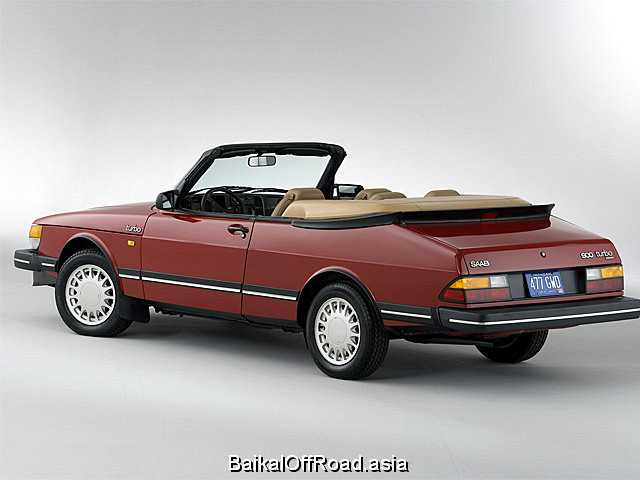 Saab 900 Convertible 2.1 i 16V (136Hp) (Механика)