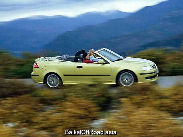 Saab 9-3 Convertible 2.0 T (210Hp) (Механика)