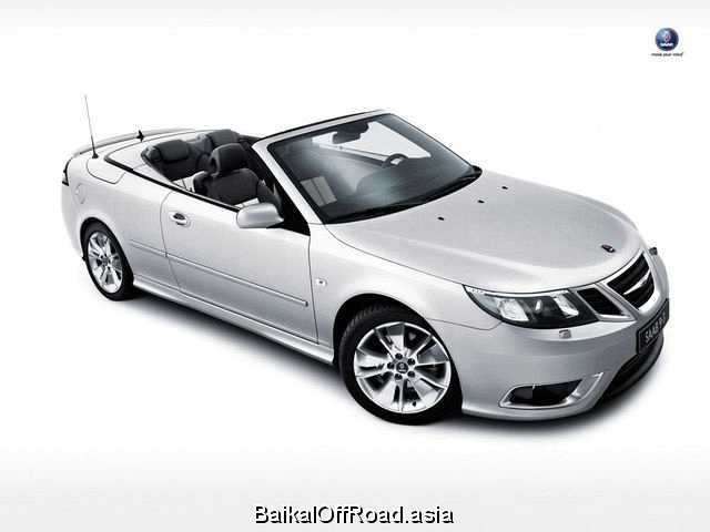 Saab 9-3 Convertible (facelift) 2.0T (210Hp) (Механика)