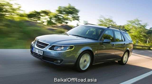 Saab 9-5 (facelift) 2.0T (150Hp) (Механика)