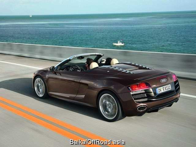 Audi R8 Spyder 5.2 (525Hp) (Механика)