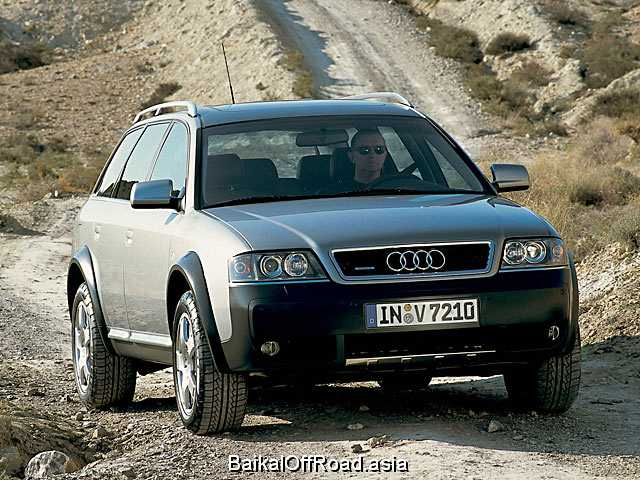 Audi Allroad 2.5 TDI quattro (180Hp) (Механика)