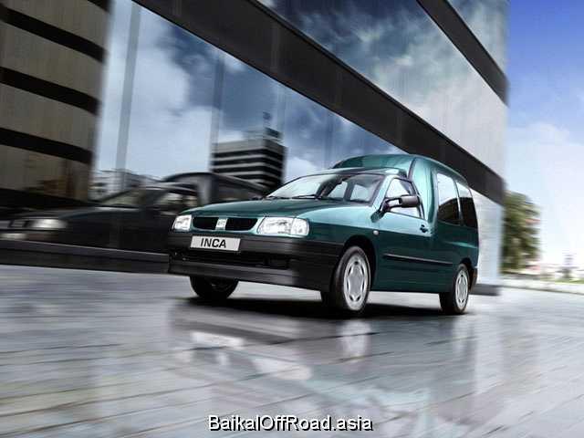 Seat Inca 1.9 TDI (90Hp) (Механика)
