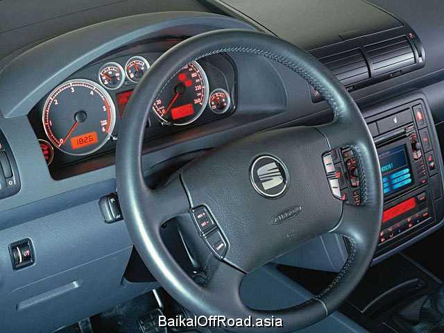 Seat Alhambra 2.8 i VR6 24V (204Hp) (Механика)