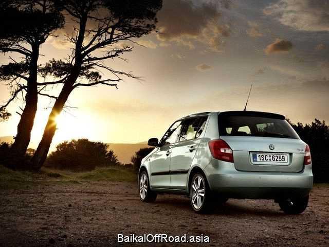Skoda Fabia (facelift) 1.4 (86Hp) (Механика)