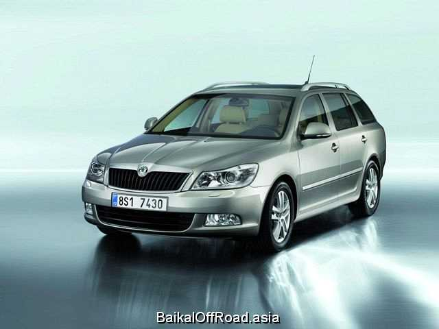 Skoda Octavia Combi (facelift) 1.6 (102Hp) (Автомат)