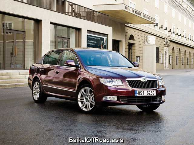 Skoda Superb Combi 1.8 TSI (160Hp) (Механика)