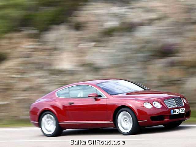 Bentley Continental GT 6.0 W12 Twin Turbo (560Hp) (Автомат)