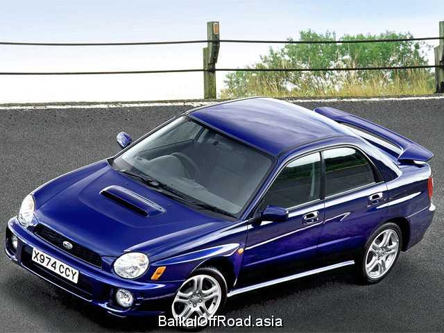 Subaru Impreza 2.5 WRX STI Turbo (280Hp) (Механика)