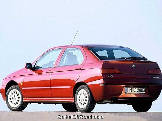 Alfa Romeo 146 2.0 16V Qudrifoglio (155Hp) (Механика)