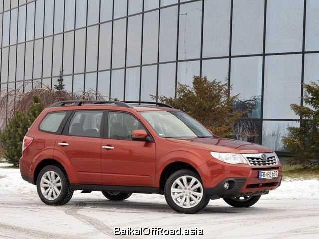 Subaru Forester (facelift) 2.5 (172Hp) (Механика)