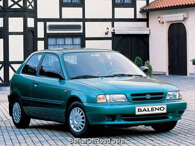 Suzuki Baleno Hatchback 1.8 GT (121Hp) (Механика)