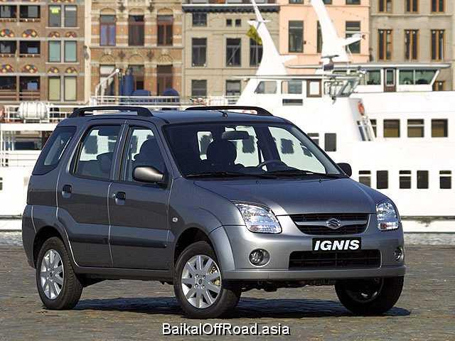 Suzuki Ignis 1.5 i 16V 4WD (99Hp) (Механика)