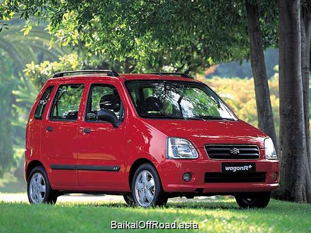 Suzuki Wagon R+ 1.3 i 16V 4WD (76Hp) (Механика)