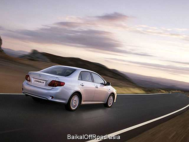 Toyota Corolla 1.6 i 16V VVT-i (124Hp) (Механика)
