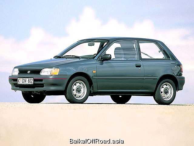Toyota Starlet 1.3 i 12V (82Hp) (Автомат)