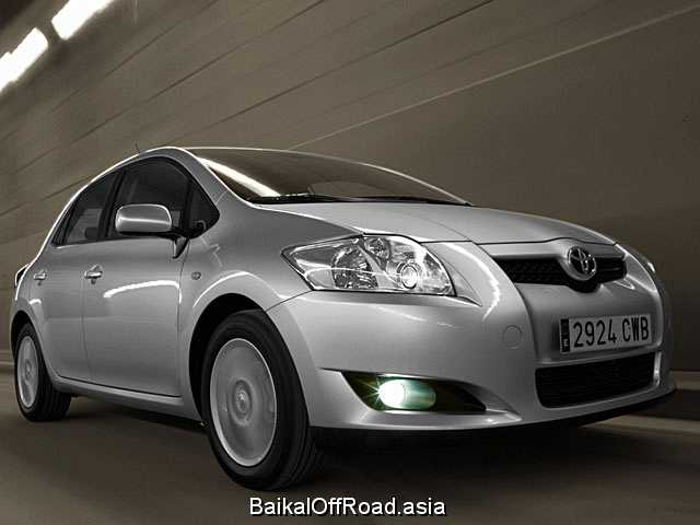 Toyota Auris 1.6 i 16V VVT-i (124Hp) (Автомат)