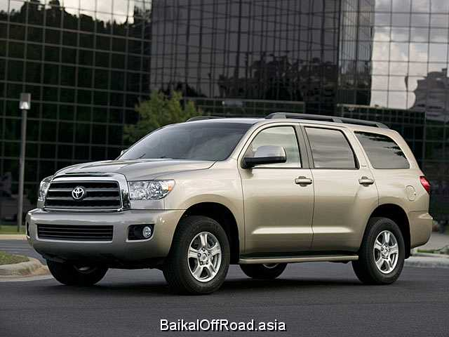 Toyota Sequoia 5.7 (381Hp) (Автомат)