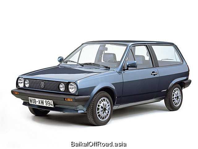 Volkswagen Polo Coupe 1.3 KAT (75Hp) (Механика)