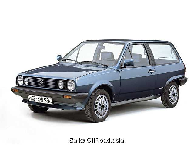 Volkswagen Polo Coupe 1.4 D (48Hp) (Механика)